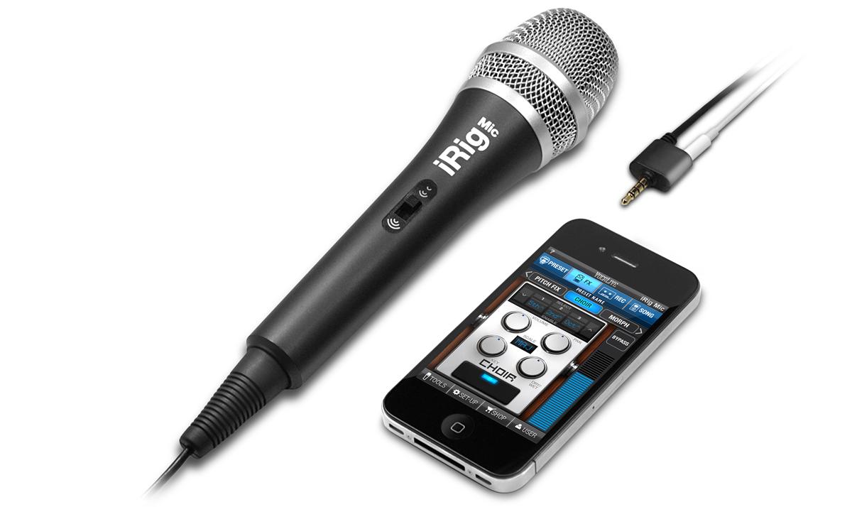 ipad mikrofona