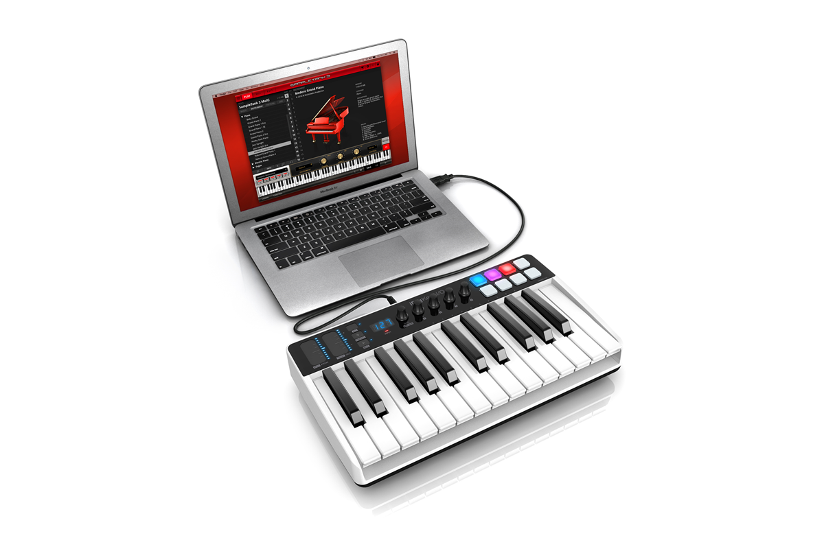 AudioPro | IK Multimedia iRig Keys I/O 25 MIDI USB