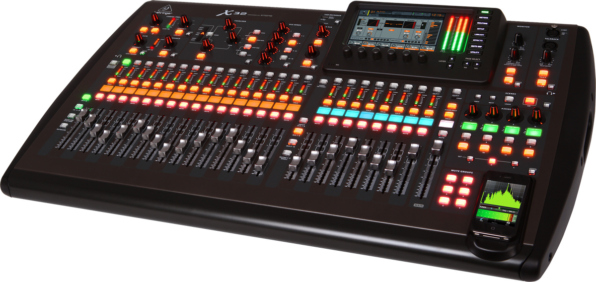 Audiopro behringer x32 digitalna mikser konzola - Console numerique behringer ...