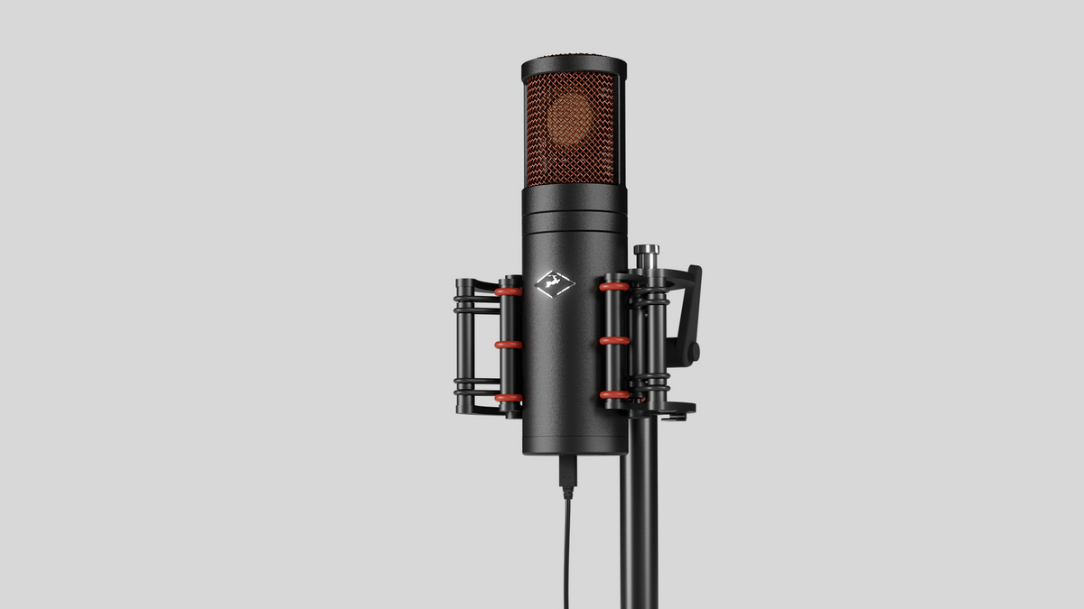 Priključite mikrofon