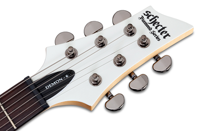 DEMON 6 WHT HEADSTOCK-1JHl