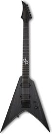 Solar Guitars V1.6 Artist Bop Ltd. Black Matte O...