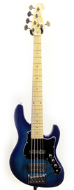 FGN Fujigen JMJ5-ASH-M See-through Blue Burst ba...