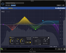 tc electronic PEQ 3000-DT EQ plug-in sa USB hard...