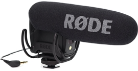 Rode VideoMic Pro + Rycote Lyre suspension