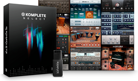 Native Instruments Komplete 11 Select softver