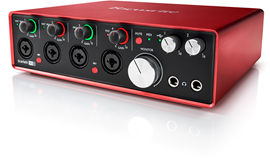 Focusrite Scarlett 18i8 (2. Generation) audio in...