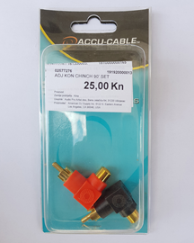 Accu-Cable 90 Cinch adapter set (2 kom.)