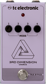 tc electronic 3rd Dimension Chorus pedala