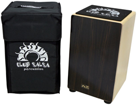 GEWA 'Club Salsa' Dark Beater Side Cajon s torbom