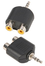 Adam Hall Connectors 7550 Y-priključak 2 x mono ...