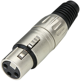Adam Hall Connectors konektor XLR ženski 7898