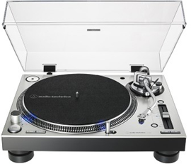 Audio-Technica AT-LP140XP Silver direct drive gr...