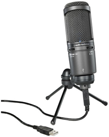 Audio-Technica AT2020USB+ kondenzatorski mikrofon
