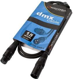 American Audio Accu-Cable AC-DMX3/1,5-90 DMX kabel