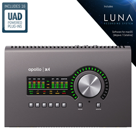 Universal Audio Apollo x4 Thunderbolt 3 audio su...