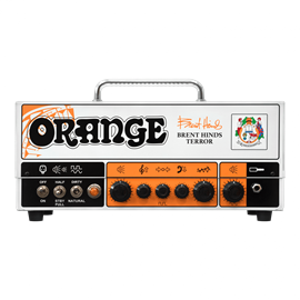 Orange Brent Hinds Terror gitarska glava