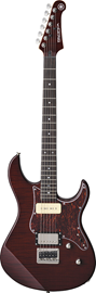 Yamaha Pacifica PAC611HFM Root Beer ele...