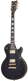 Schecter Solo II Custom Aged Black Satin (ABSN) ...