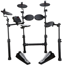 Carlsbro-CSD100-electronic-drumkit-drum-set-front-view