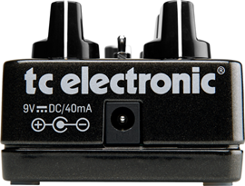 tc electronic Dark Matter Distortion pedala