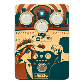 Orange Getaway Driver overdrive pedala