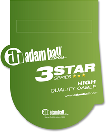 Adam Hall Cables 3 Star Series - Audio Cable 3.5...