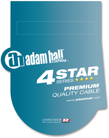 Adam Hall Cables 4 Star Series - Audio Cable REA...