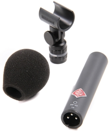 Neumann KM183 Omni - Black (single) kondenzators...