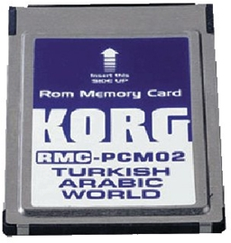 Korg RMC-PCM02 PA80-Middle East kartica...
