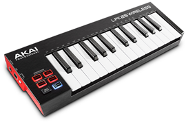 Akai LPK25 Wireless bluetooth MIDI kontroler