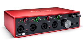 Focusrite Scarlett 18i8 (3. Generation) audio su...