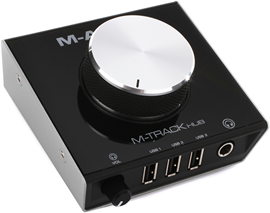 M-Audio M-Track HUB audio interfejs