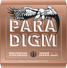 Ernie Ball 2076 Paradigm Medium Light Phosphor B...