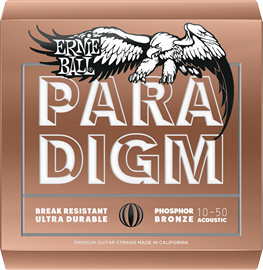Ernie Ball 2080 Paradigm Extra Light Phosphor Br...