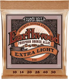 Ernie Ball 2150 Earthwood Extra Light Phosphor B...