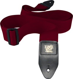 Ernie Ball 4047 Burgundy Polypro Guitar Strap re...