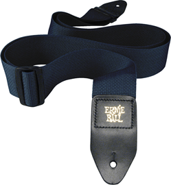 Ernie Ball 4049 Navy Polypro Guitar Strap remen ...