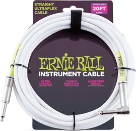 Ernie Ball 6047 20' Straight/Straight Instrument...