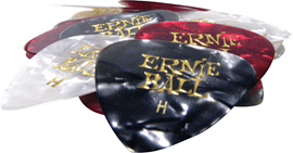 Ernie Ball 9168 Heavy Assorted Color Pearloid Ce...