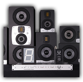 eve audio PMR 2.10 pasivni monitorski ruter