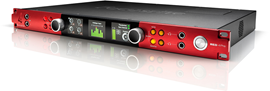 Focusrite Pro Red 4Pre 58x64 thunderbolt 2 audio...