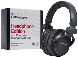 Sonarworks Monoprice Reference 4 Headphone Bundl...
