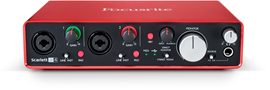 Focusrite Scarlett 2i4 (2. Generation) audio int...