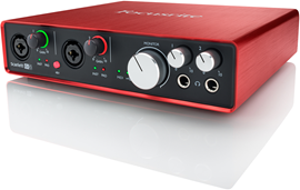 Focusrite Scarlett 6i6 (2. Generation) audio int...
