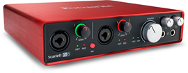 Focusrite Scarlett 6i6 (2. Generation) audio suč...