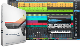 PreSonus Studio One 4 Professional DAW softver (...