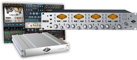 Universal Audio 4-710d + UAD-2 Satellite QUAD Bu...