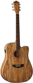 Washburn D46CE Spalted Maple elektro-akustična g...
