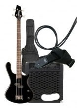 Washburn T12 Black Bass Pack komplet